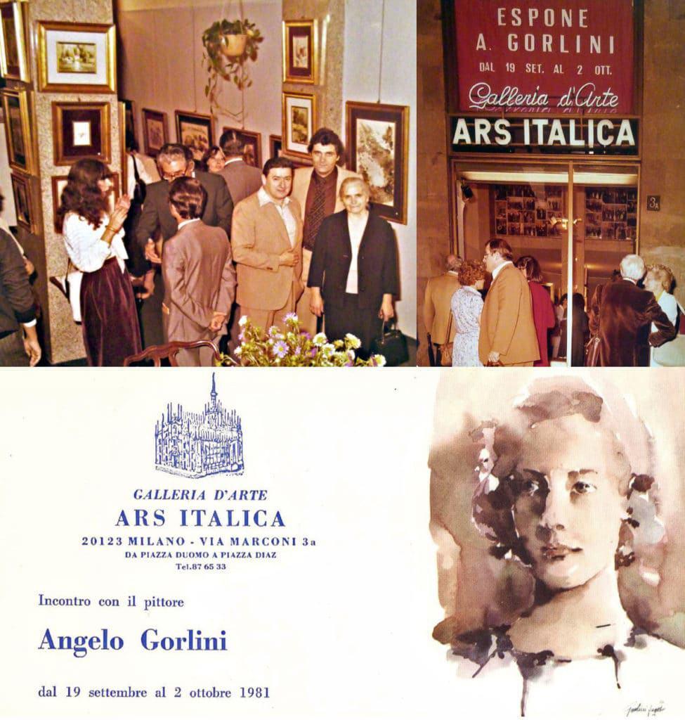 1981- La prima mostra personale importante